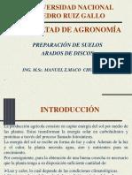 3.- Maq. de Labranza Arados Discos