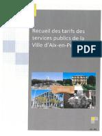 CM 42 9.11.2018 Tarifs Et Droits Divers 2019