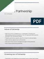 Law on Partnership