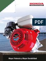 Ficha Tecnica Productos Para Mar y Pesca Honda