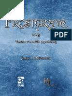 FAQ Frostgrave v1.02