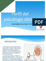 Perfil del psicólogo clínico...
