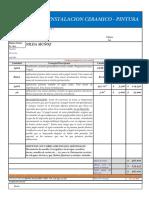 Presupuesto Sra. Nilda Muñoz