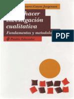 Como Hacer Investigacion Cualitativa_ Fundamentos y Metodologia