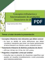 Conceptos Tributarios y Funcionamiento de Productos Financieros Zurich