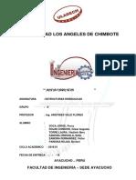 Informe Del Curso de Estructuras Hidráulicas de La Visita Al Ex Proyecto Rio Cachi