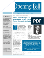 AIQ Opening Bell Newsletter Sep.2003
