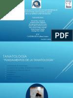 Fundamentos de La Tanatología Bibliografías