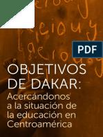 Informe Objetivos de Dakar- situación de la educacion en Centroamerica 2012.pdf