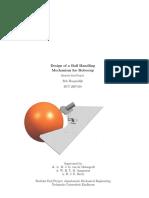 Design a ball handdling