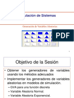 GENERADORES DE VARIABLES ALEATORIAS UPC
