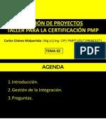 Tema 2 - Gestion de La Integracion
