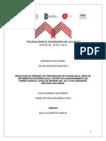 Protocolo de Investigacion DMAIC