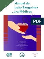 Manual de Transfusão Sanguínea Para Médicos