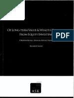 Of Long-Term Value & Wealth Creation - Bharat Shah