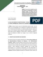 Casación 9467-2015 Lima - Principio de Duda Razonable en La Administración Pública Aduanera - Compilador José María Pacori Cari