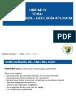 7. Plan de Clases - 7 Hidrogeología – Geología Aplicada