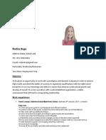 Resume type for dubai