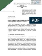 Casación 15763-2015 Lima Qué Significa Causar Estado en El Derecho Administrativo - Compilador José María Pacori Cari