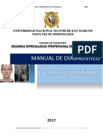 Manual de Dx. Facial y Cefalometrico.