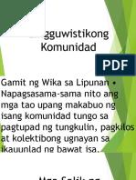 Una at Pangalawang Wika