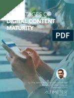 Digital Content Maturity