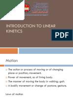 Linear Kinetics