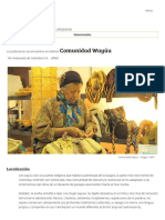 Comunidad Wayúu - Artesanías de Colombia