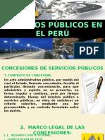 Concesion de Servicios Publicos