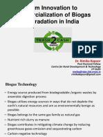 Rimika IITD Biogas