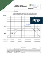 Test Pressure Record Sheet