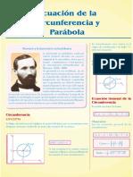 Guía 8-Ecuación de La Circunferencia y Parábola