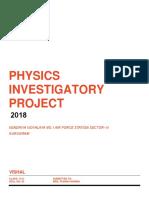 Capacitors Investigatory Project