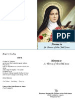 Novena to St. Therese1
