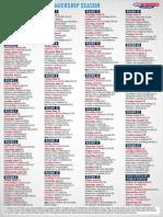 2018 Toyota AFL Premiership Season Fixture PDF
