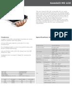 GeminII M5 LED Product Sheet