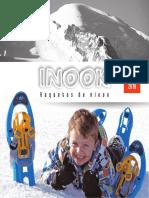 Catalogo Raquetas de Nieve -InOOK-2018