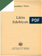Müzehher Erim - Latin Edebiyatı Tarihi