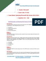 PassLeader 70-461 Exam Dumps (151-end)