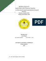 Proposal Dana MIPA Alip