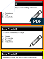 22fears and phobias 22 review task cards