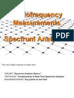 Spectrum Analysis Back to Basic Slides