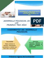 Desarrollo Psicocosocial Primeros 3 Años