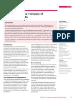 Managing the Drug Treatment of Rheumatoid Arthritis