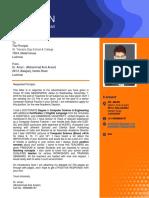 Enquiry Letter Format