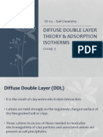 Diffuse Double Layer