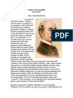 Vasile Alecsandri - biografie