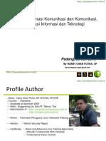 Seminar Teknologi Informasi Komunikasi dan Komunikasi, Globaliasi Informasi dan Teknologi