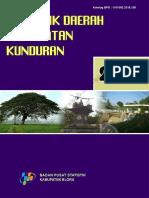 Statistik Daerah Kecamatan Kunduran 2016