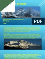 The Mount Everest Martin V
